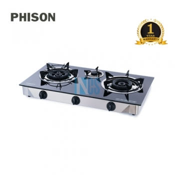 GAS COOKER-TEMP/GLASS(120MM)