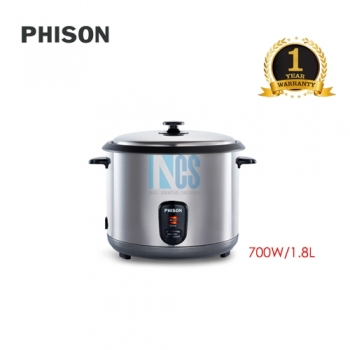 PHISON DELUXE RICE COOKER 1.8L 700w