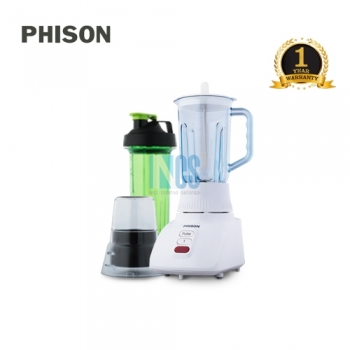 BLENDER WITH DRY MILL AND TUMBLER