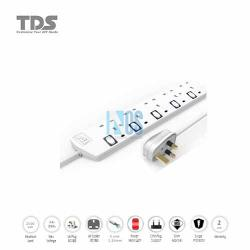 TDS Trailing Socket-5 Way-5 Metre BS