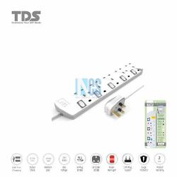 TDS Trailing Socket-5 Way-2 Metre