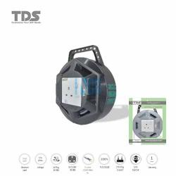TDS Extension Socket Q Series 1 Gang UK Socket 750W/3CX23X0.16MM-10Meter