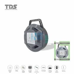 TDS Extension Socket Q Series 1 Gang UK Socket 1500W/3CX40X0.16MM-10Meter