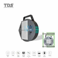 TDS Extension Socket Q Series 2 Gang UK Socket 1500W/3CX40X0.16MM-10Meter