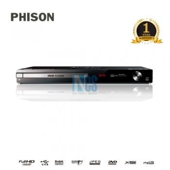 PHISON DVD PLAYER WITH HDMI