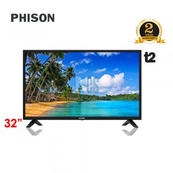 PHISON 32' LED TV T2 -  E-SERIES