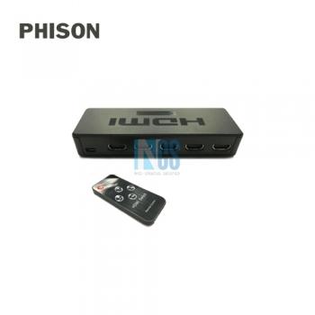 PHISON 4X1 HDMI SWITCH 4K (PLASTIC)