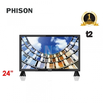 PHISON 24' LED TV T2 -  E-SERIES