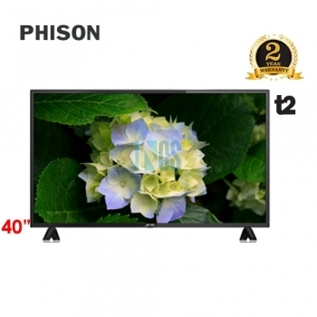 PHISON 40' LED TV T2 - E-SERIES