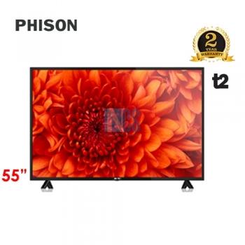 PHISON 55' LED 4K T2 E-SERIES