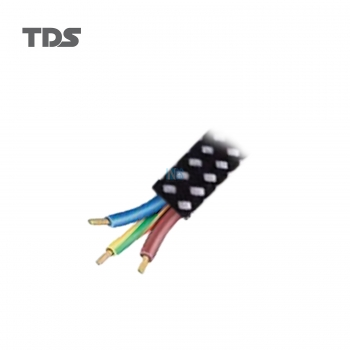 TDS Cotton Pure Cooper Cable - 3core/40wires/0.15mm (1.5M)