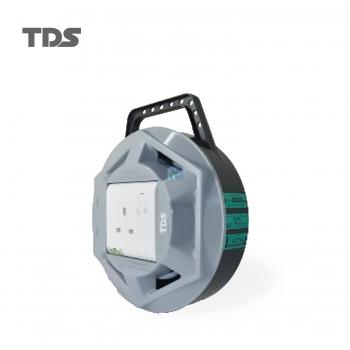 TDS EXTENSION SOCKET Q SERIES 1 GANG UK SOCKET 3000W/3CX1.25MM-5METER