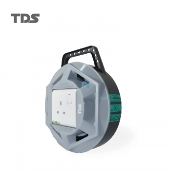 TDS EXTENSION SOCKET Q SERIES 1 GANG UK SOCKET 3000W/3CX1.25MM-7METER