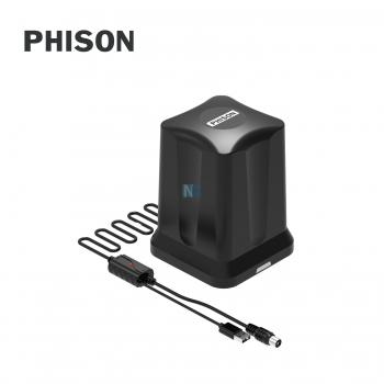 Phison Indoor Digital Antenna With USB (Black)